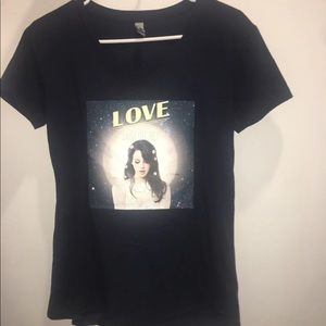 Lana del Rey custom made t shirt and CD NFR!!